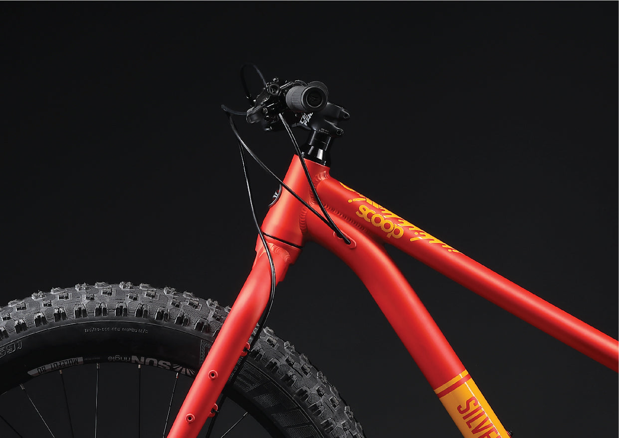 silverback scoop fatty fat bike cable routing