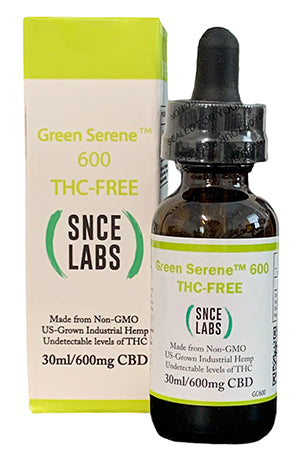 Load image into Gallery viewer, Green Serene 600  THC Free Broad Spectrum CBD Oil