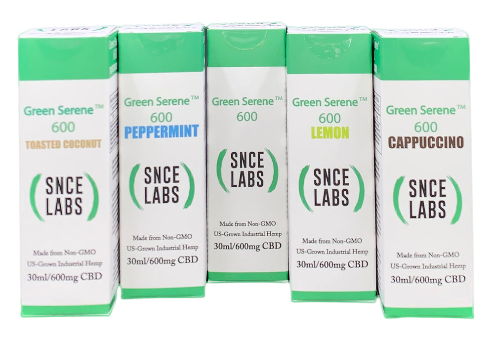 Green Serene 600 Full Spectrum CBD Oil