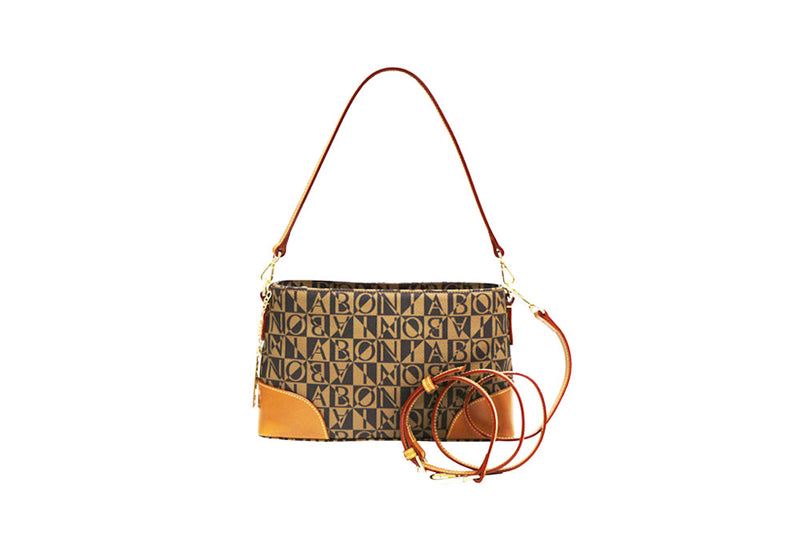 Christine Monogram Shoulder Bag
