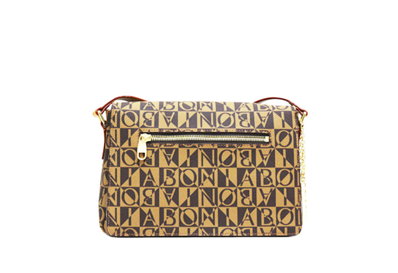 Christine Monogram Structured Crossbody