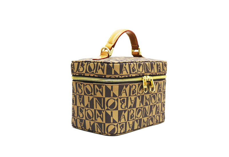 Monogram Satchel Box Bag