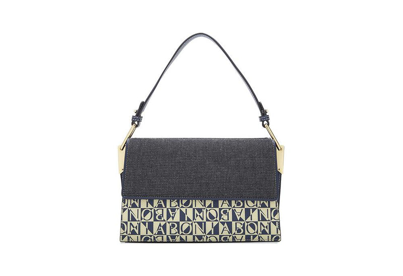 Damiano Capsule Two-Sided Fabric Satchel