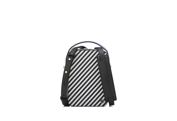 Riva Striped Square Box Bag I