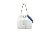 Olympian Drawstring Bucket Bag L