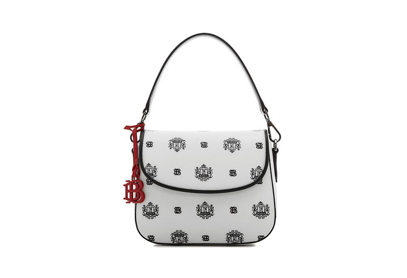 Ariel Sling Bag with Twin Lion Shield Motif