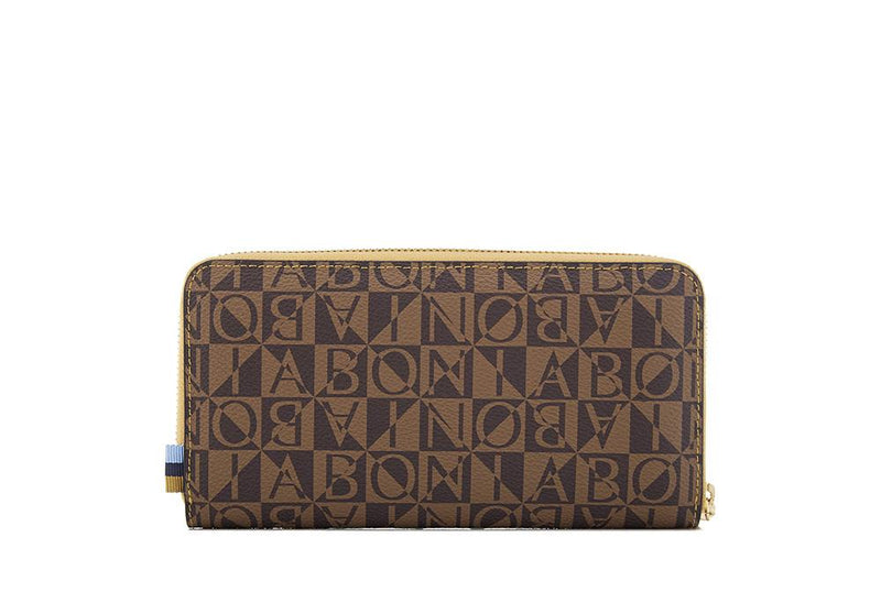 Claire Monogram Long Zipper Wallet