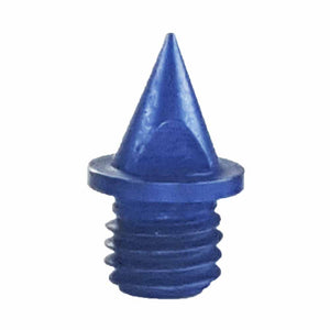 "Blue 1/4"" Pyramid Track Spikes - Pack of 20"