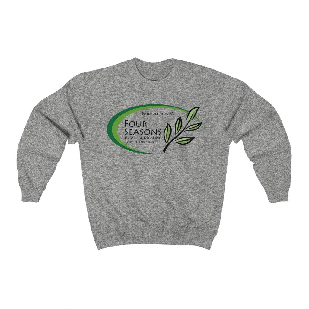 Four Seasons Total Landscaping Philadelphia Pa T-Shirt 2020 LAWN AND Order| Unisex Heavy Blend Crewneck Sweatshirt