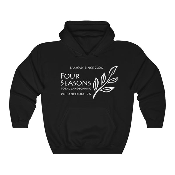 Four Seasons Landscaping Philly Pa Hoodie 2020 LAWN AND ORDER | Unisex Heavy Blend Hooded Sweatshirt