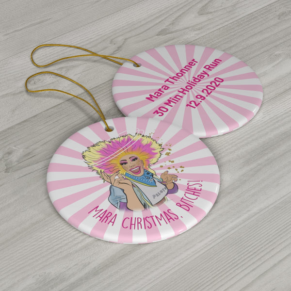 Mara Thonner Ornament - Profits to Athlete Ally