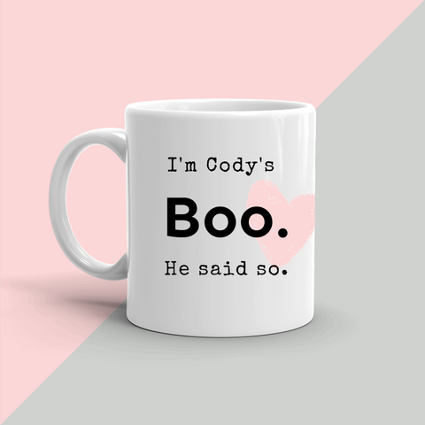 CODY'S BOO Coffee Mug