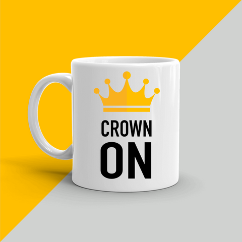 CROWN ON Coffee Mug