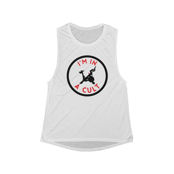 I'm IN A CULT Women's Flowy Scoop Muscle Tank