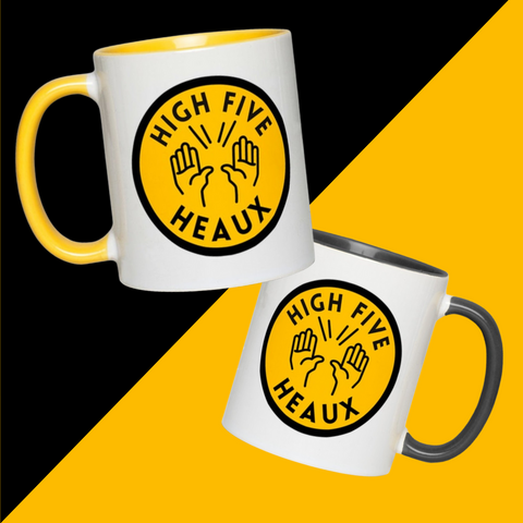 High-Five Heaux Accent Mug 11 oz