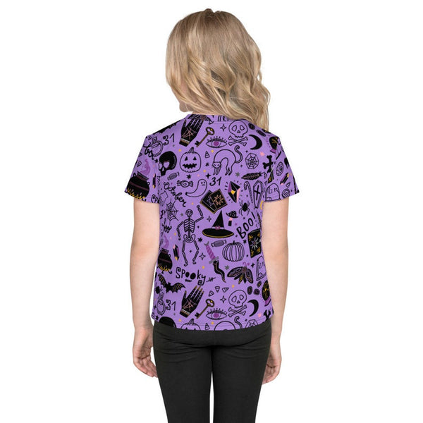 GOOD WITCH Customizable Spooky Doodle Halloween Kids Tee