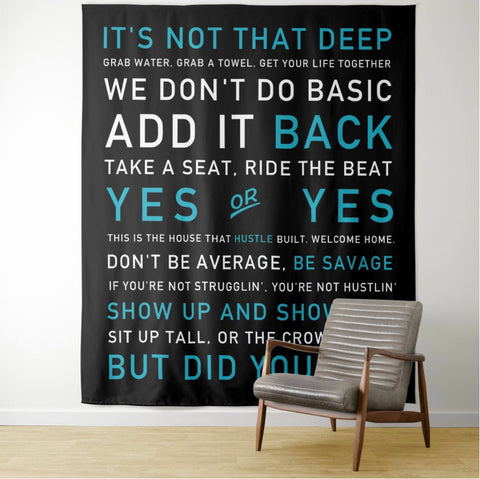 Instructor Quotes TAPESTRY (4 sizes) Poster - Best Poster 2020
