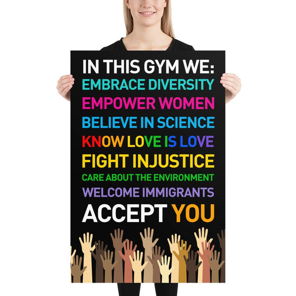 DIVERSITY POSTER for Teachers, Classroom - Best Poster 2020
