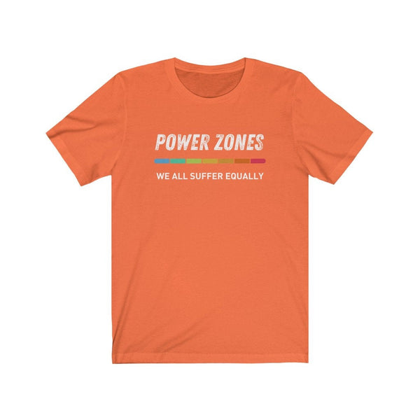 POWER ZONES We all suffer Top - Unisex Short Sleeve Tee