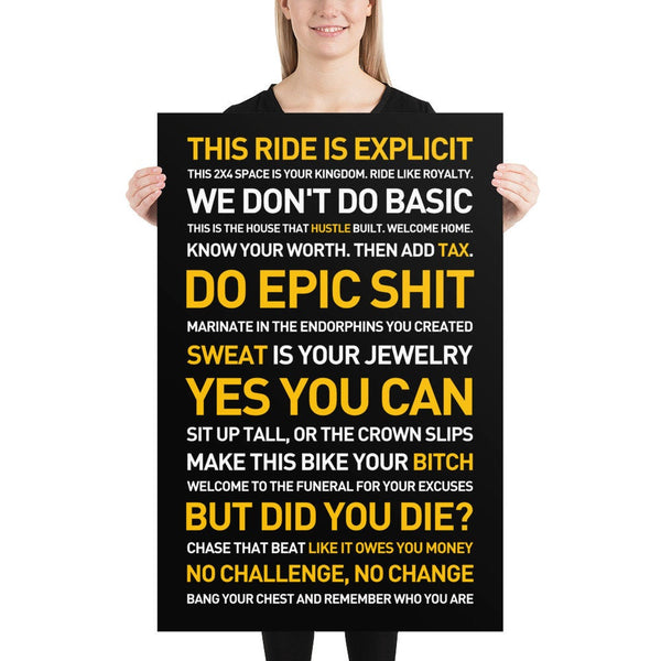 DO EPIC SHIT Poster 24x36 - Best Shit Poster 2020