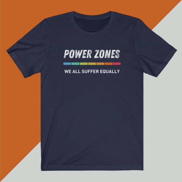 POWER ZONES We all suffer equally - Unisex Short Sleeve Tee