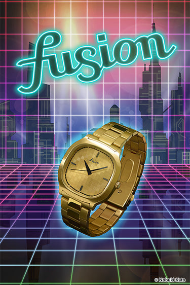 fusion 80's STYLE <DISCO WATCH>