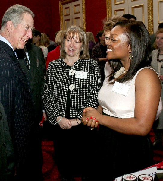 MEETING HIS ROYAL HIGHNESS THE PRINCE OF WALES