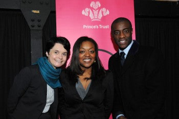 EMI & BEN FOUNDER GIVES SPEECH AT PRINCE'S TRUST MILLION MAKERS CORPORATE EVENT