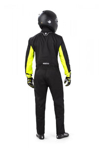 Leisure Karting Suit Sparco Rookie Black/Yellow