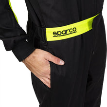 Load image into Gallery viewer, Leisure Karting Suit Sparco Rookie Black/Yellow