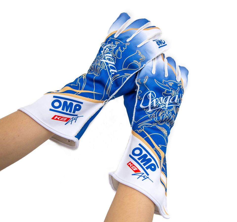 PRAGA GLOVES CUSTOMISED KS-ART | DASH RACEGEAR
