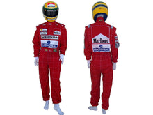 Load image into Gallery viewer, Ayrton Senna 1991 racing suit Replica / Team Mc Laren F1
