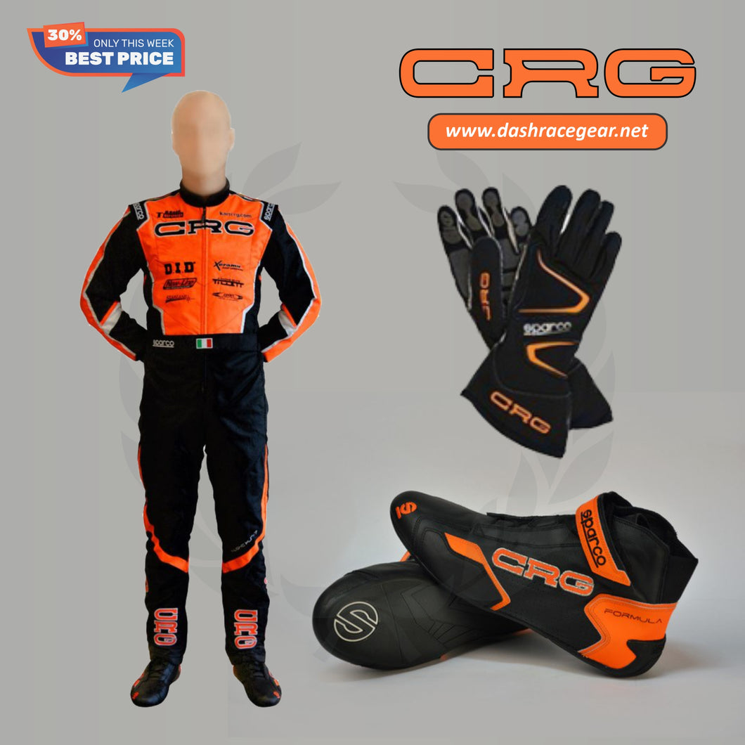 CRG CUSTOM KART RACE SUIT PACKAGE 2020 NEW!