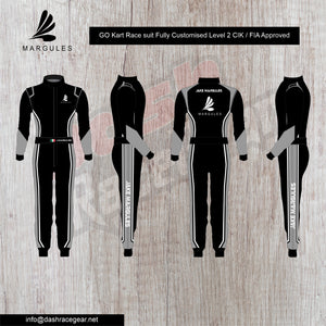 Margules Customized Go karting Suit