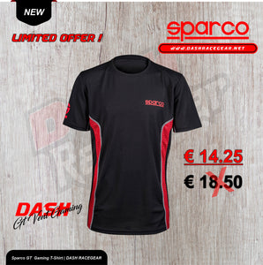 Sparco GT Gaming T-Shirt | DASH RACEGEAR