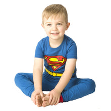 Afbeelding in Gallery-weergave laden, Superman Blue Pajama Set