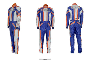 EXPRIT OMP SUBLIMATION PRINTED GO KART RACE SUIT,IN ALL SIZES