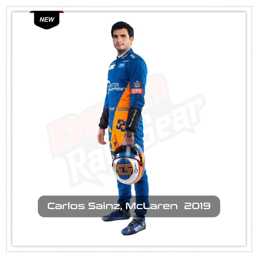 Carlos Sainz McLaren 2019 Race Suit