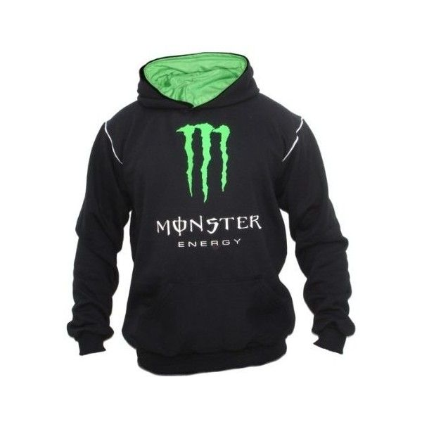 Monster Energy Customised Fleece Hoddie | Dash Racegear