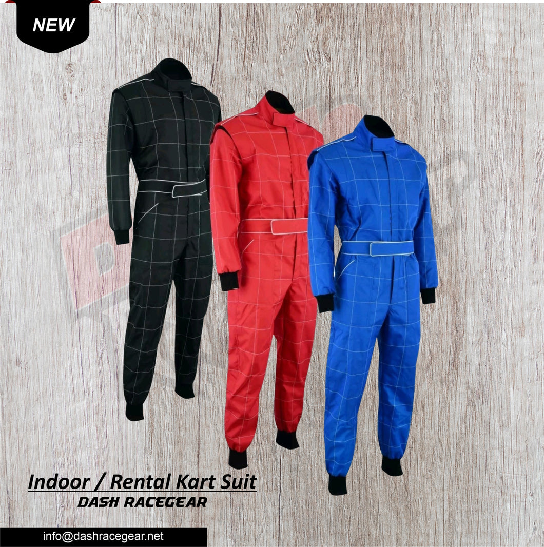 Laisure Rental Go kart  Race Suit  Dash Racegear