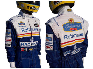 Ayrton Senna 1994 racing suit / Team Williams F1 Rothmans