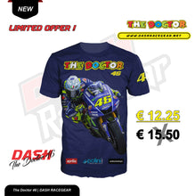 Load image into Gallery viewer, The Doctor Valentino Rossi Racing VR 46 T-SHIRT