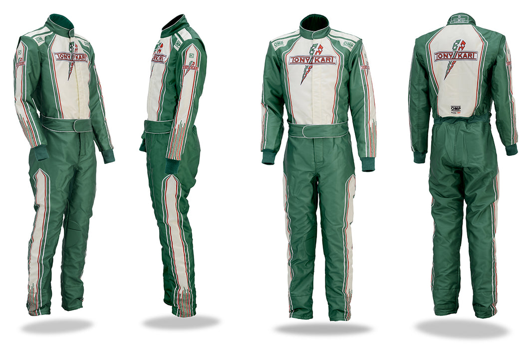 Tony kart Racing Suit Omp 2016