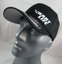 Load image into Gallery viewer, Kart Life Flex-Fit custom fitted hat, Racing Karts cap