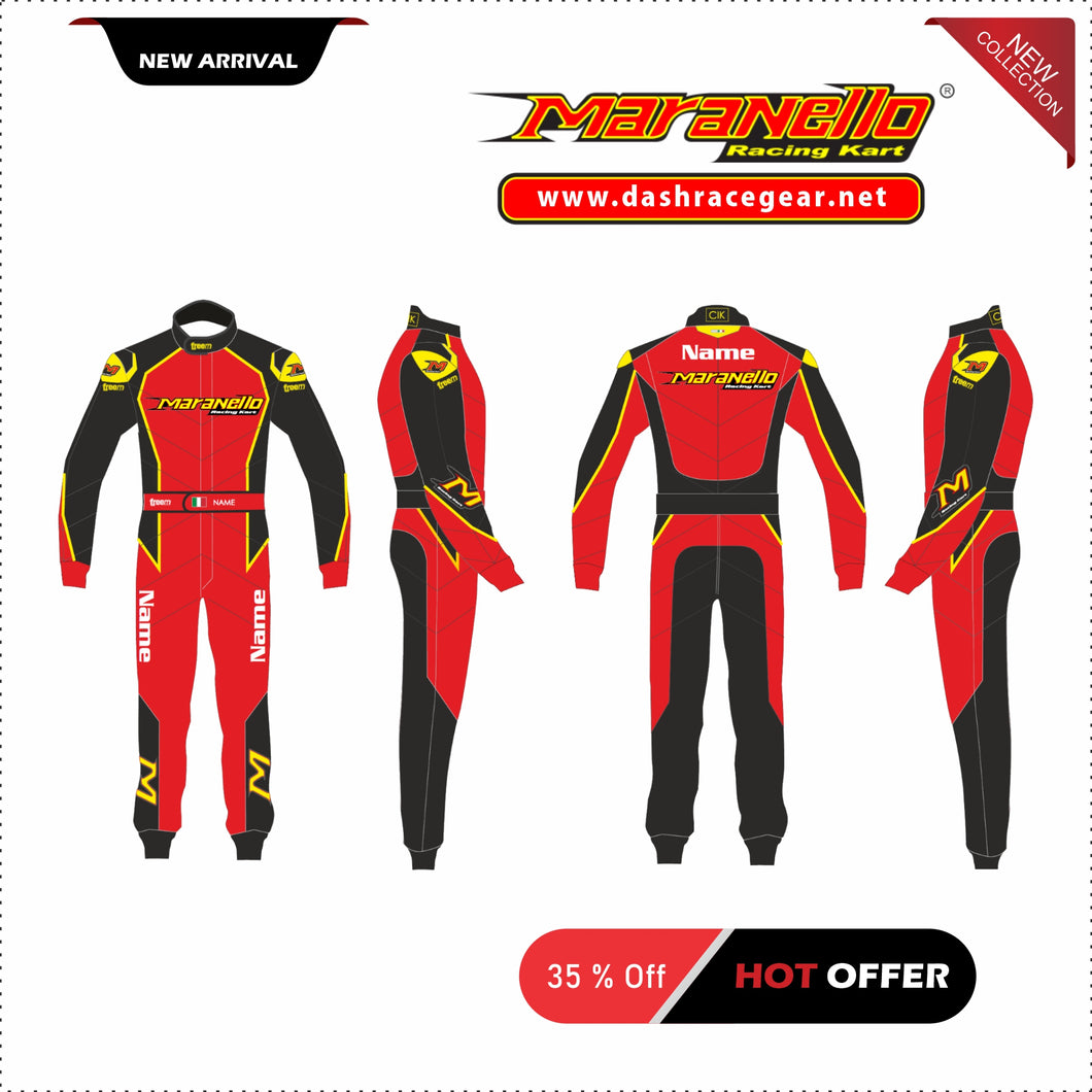 Maranello Overall Karting Suit 2020 New !