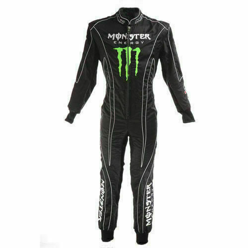Monster energy Sublimation Printed go kart race suit,In All Sizes