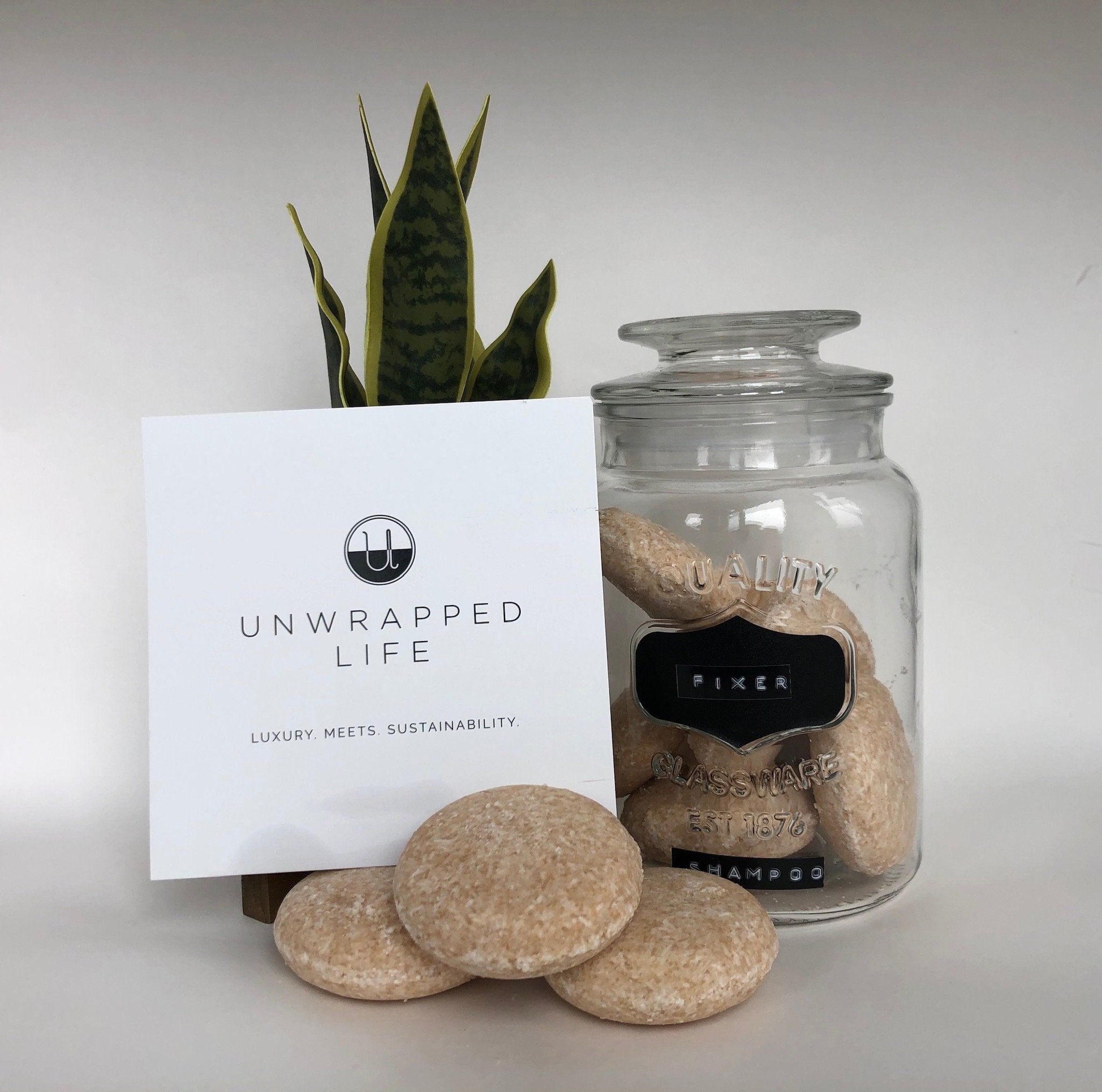 The Unwrapped Life- The Fixer Shampoo Bar