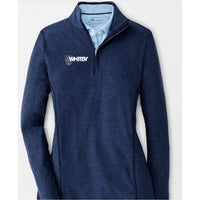 Peter Millar Women's Perth Melange Quarter Zip