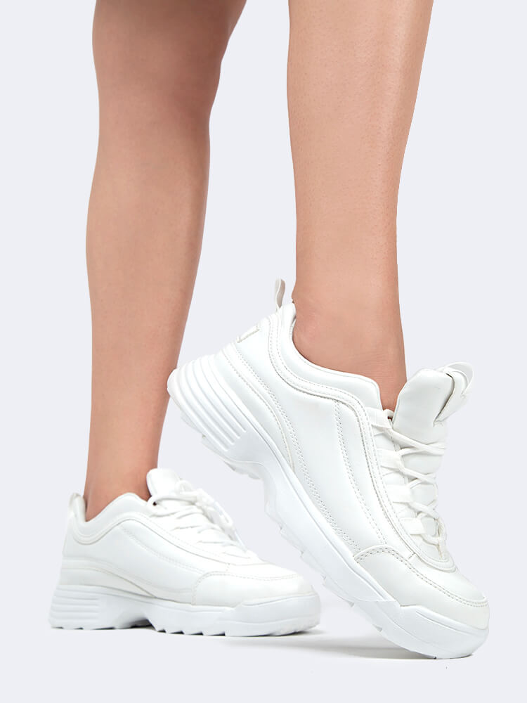 Lace Up Chunky Sneaker