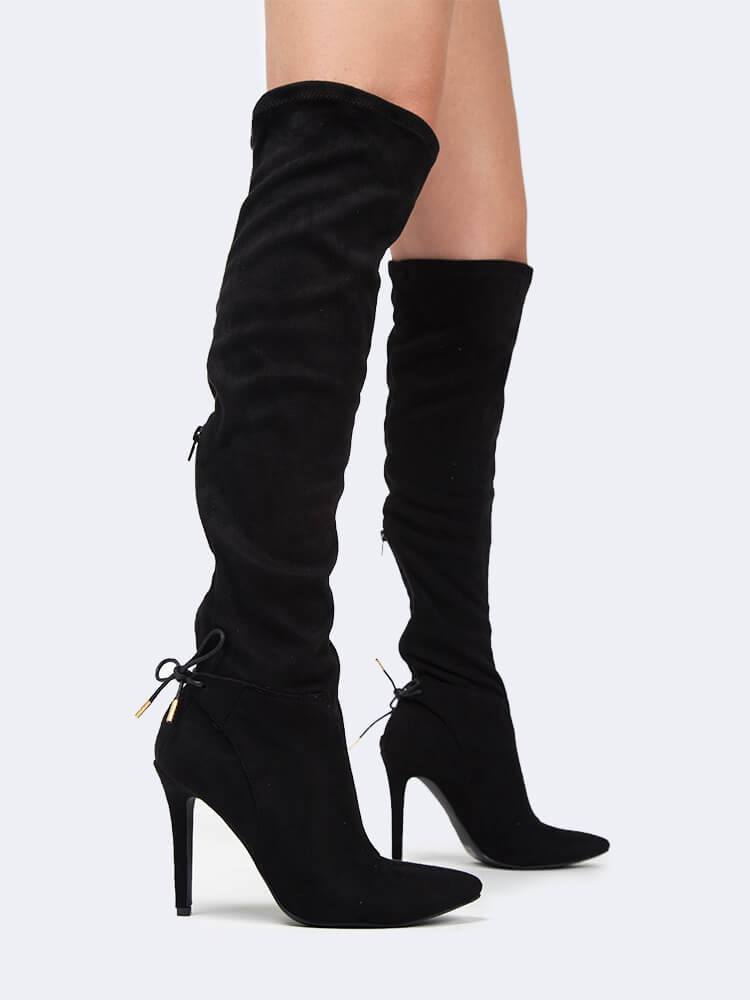 Over the Knee Stiletto Boot